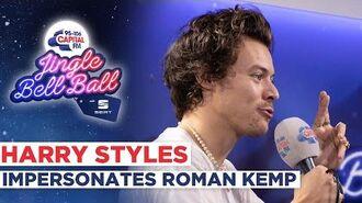 Harry Styles Impersonates Roman Kemp Capital