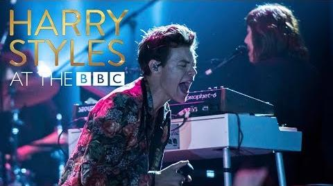 Harry Styles - Carolina (At The BBC)