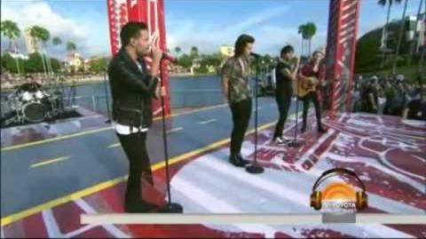 One Direction - Night Changes - Today Show (November 17, 2014)