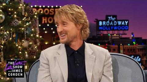 Owen Wilson Wants a Rematch w Usain Bolt