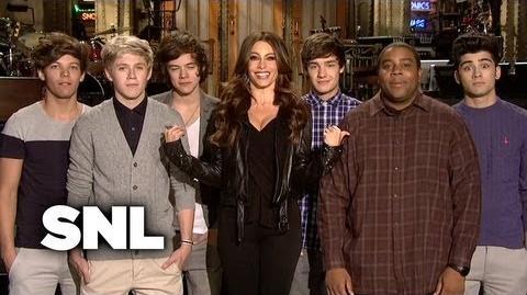 SNL Promo Sofia Vergara - One Direction - Saturday Night Live