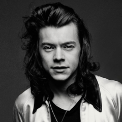 Harry promoting