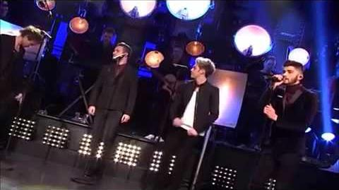 One Direction - Through The Dark Live Performance 2014