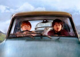 Ron Harry macchina volante