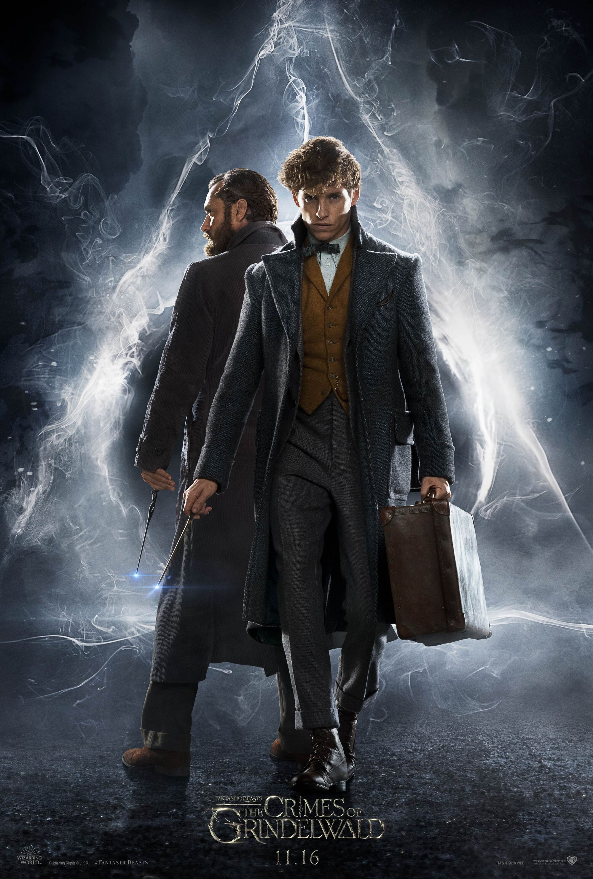 Hasil gambar untuk Fantastic Beasts: The Crimes of Grindelwald (2018) poster