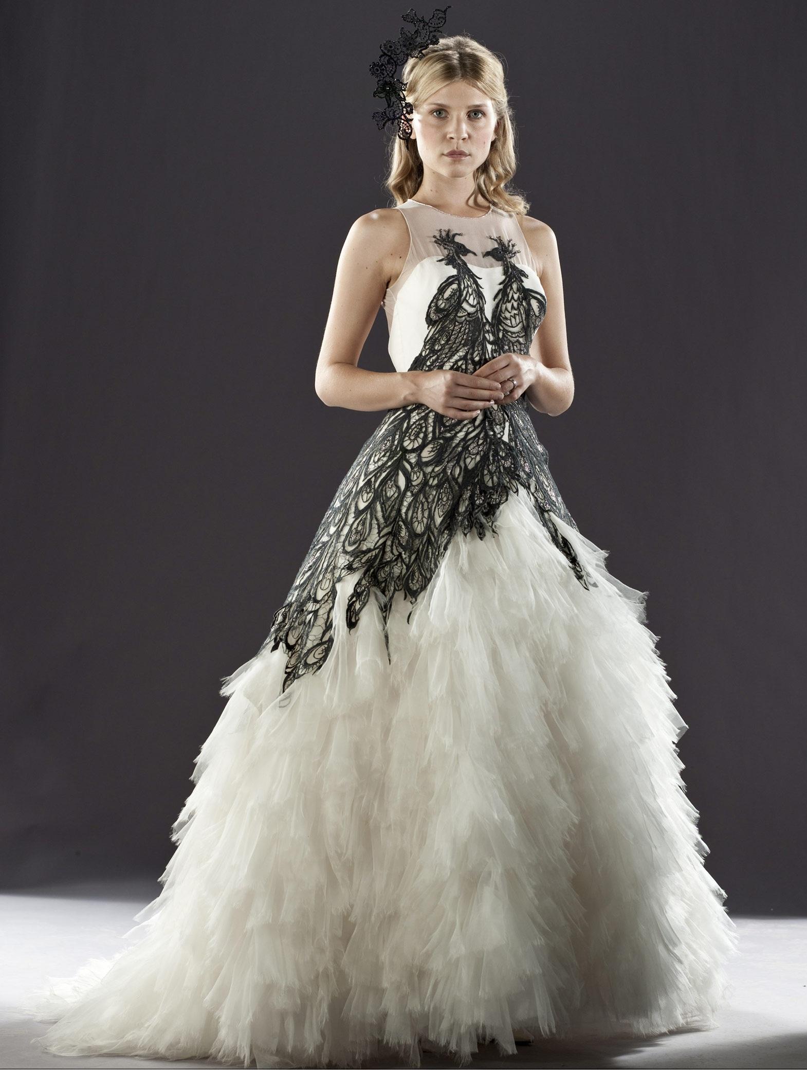 Fleur Delacours wedding dress Harry Potter Wiki FANDOM powered