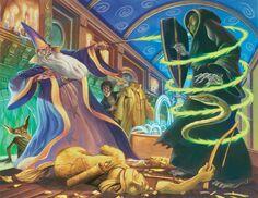 Grandpre Dueling Wizards