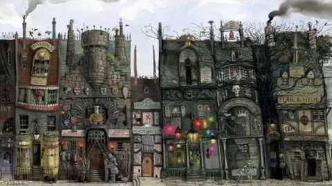Jim Kay on designing Diagon Alley