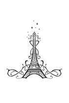 COGS Opening art Eiffel Tower