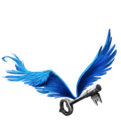 Крылатый ключ