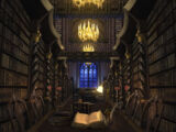 Bibliothèque de Poudlard