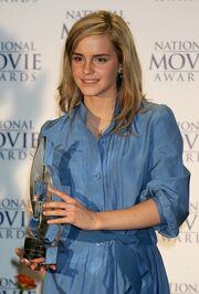 Emma Watson Receiving An Award