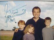 Rupert Grint Autogrammkarte