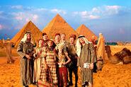 Weasley-Foto aus Ägypten