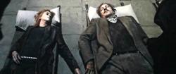 Мёртвые Римус и Тонкс