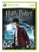 Half-Blood Prince video game XBOX 360 cover art