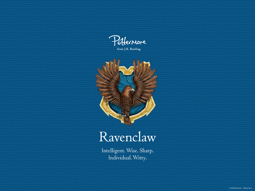 Pm Pride Ravenclaw Desktop Wallpaper 1024 X 768 Px