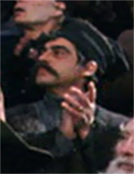 Moustached