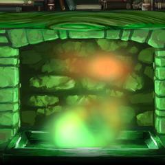 Камин с сайта «Pottermore»