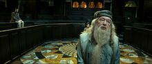 Harry Dumbledore Disciplinary Hearing