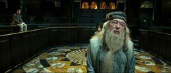 Harry Dumbledore Disciplinary Hearing