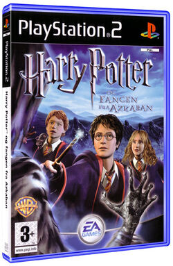 Harry potter Fangen fra Azkaban cover