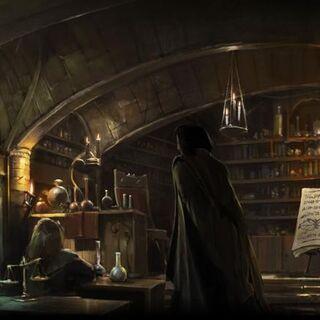 Класс на Pottermore