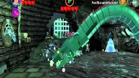 Walka z Bazyliszkiem w wersji LEGO