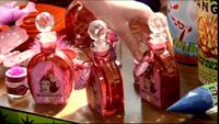 Bottles of Wonder Witch Love Potions (Weasleys' Wizard Wheezes product)