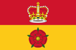 Flag of Hampshire, графство