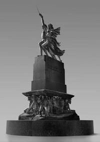 Статуя «Магия — сила» (концепт)