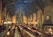 Große Halle Weihnachten