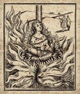 MinaLima Store - New Salem Philantropic Society Witch Burning Woodcut II