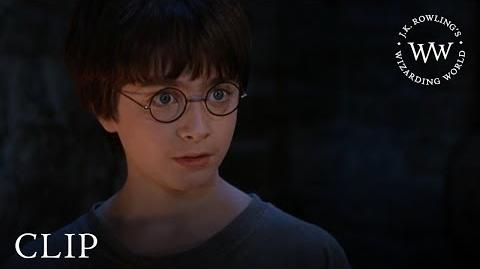 """""""Yer a wizard, Harry"""" Harry Potter and the Philosopher's Stone"""