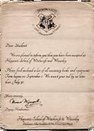 Letter - Hogwarts Mystery