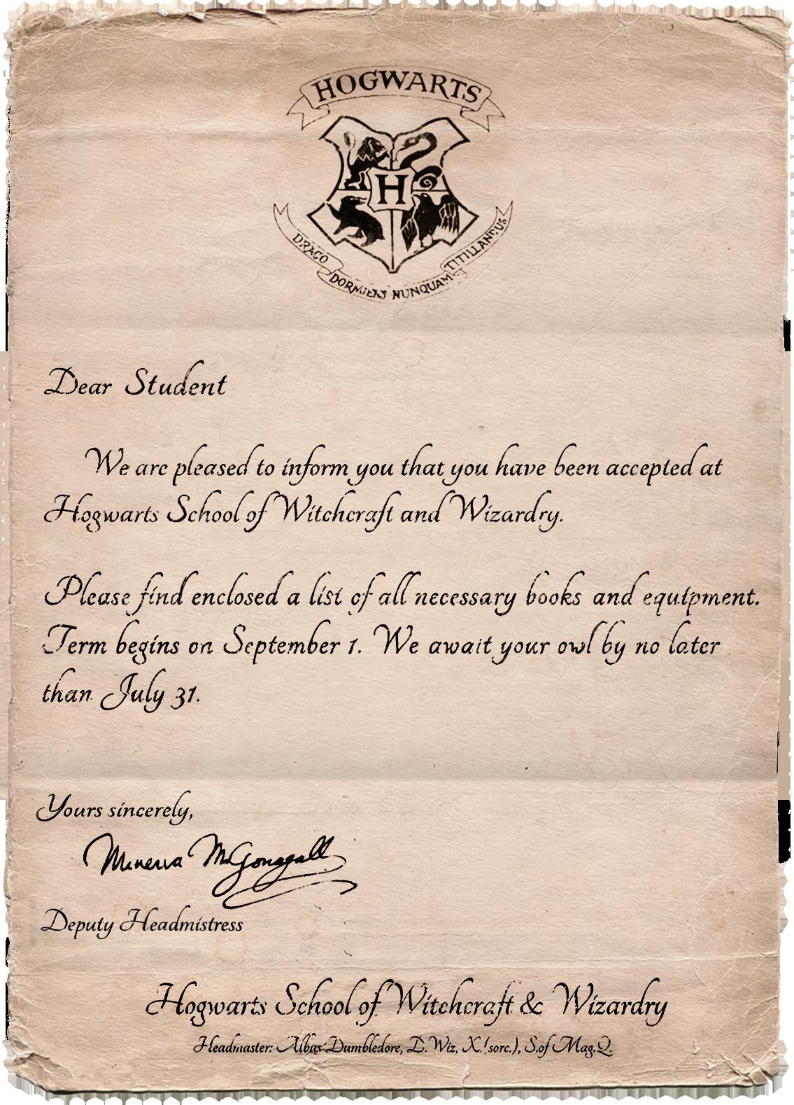 Image Letter Hogwarts Mystery Harry Potter Wiki