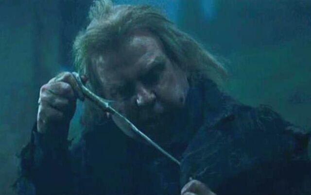 Datei:Wormtail holding Voldemort's wand.JPG