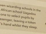 Uagadou-Schule für Zauberei