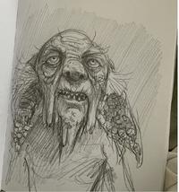 Jim Kay Kreacher Sketch