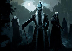 Masked Death Eaters (Concept Artwork for the HP4 film)