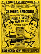 MinaLima Store - Skiving Snackbox Advertisement - Poster