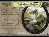 Welsh Green Dragon