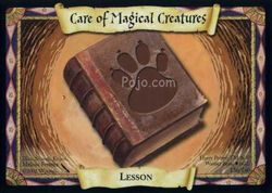 Care of Magical Creatures (Harry Potter Trading Card)