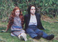 Lily Evans e Severus Piton