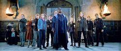 Ordem da Fênix na batalha de Hogwarts