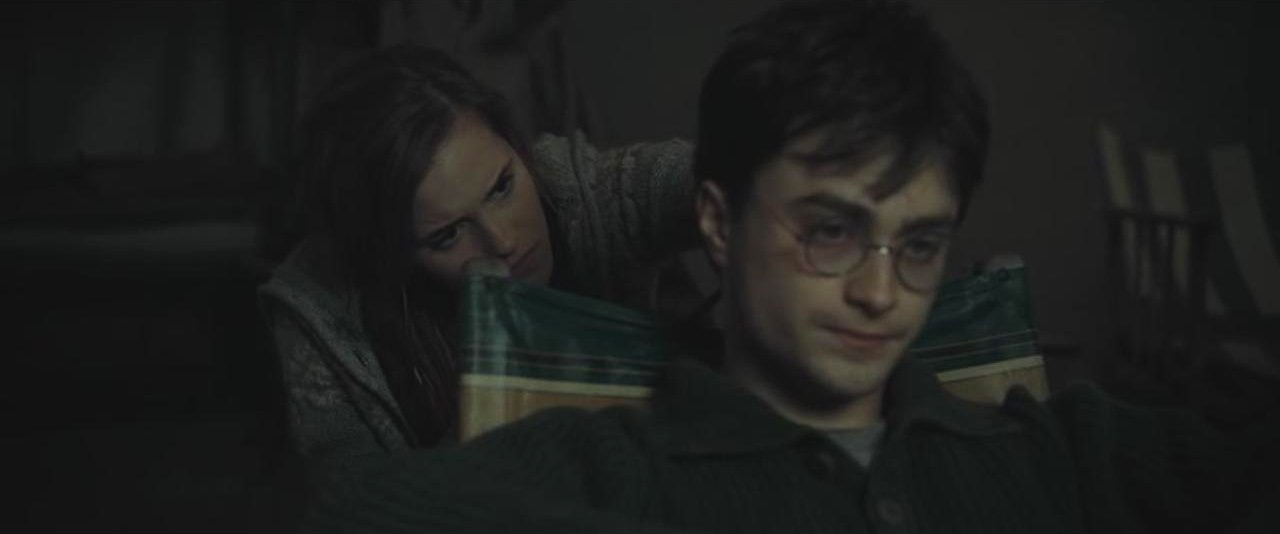 Image Hermione Giving Harry A Haircutg Harry Potter Wiki