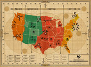 MinaLima Store - MACUSA Spell Contraventions Map