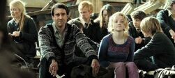 Neville Longbottom and Luna Lovegood after the Battle of Hogwarts