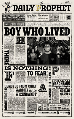 Daily Prophet articles | Harry Potter Wiki | FANDOM powered by Wikia