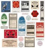 MinaLima Store - Newt Scamander's Magical Medicine Labels